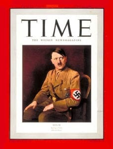 Time - Hitler, Man of the Year