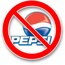 No More Pepsi!